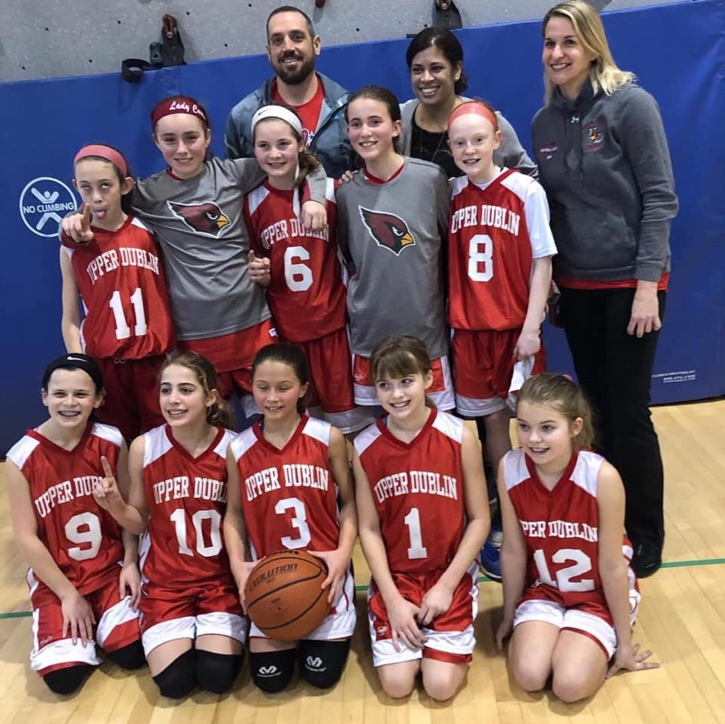 5th Grade Girls Basketball Champs