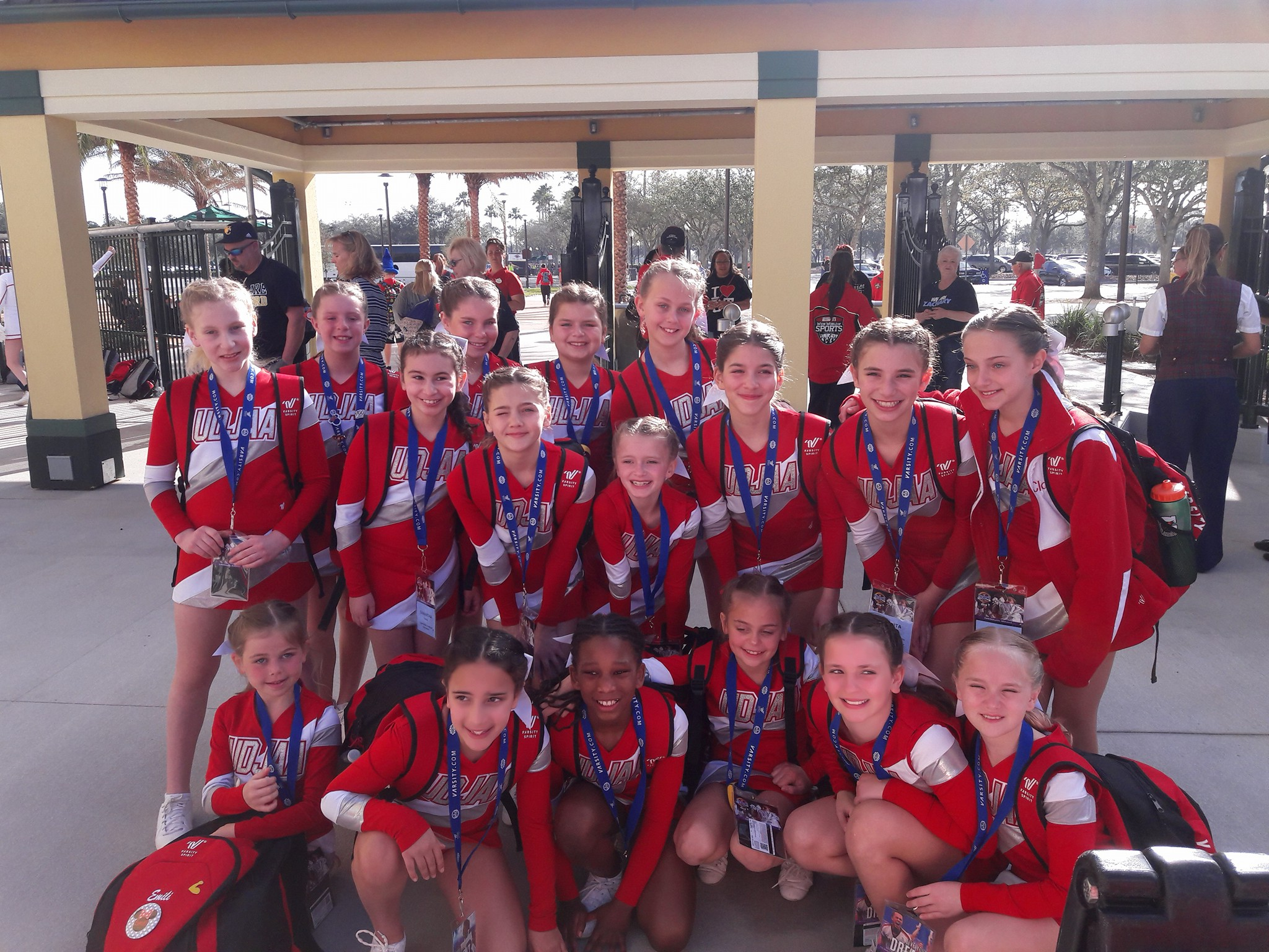 Girls 10U Place 2nd at Nationals in Orlando